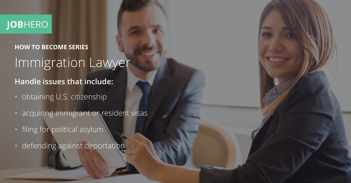 How to Become an Immigration Lawyer - JobHero
