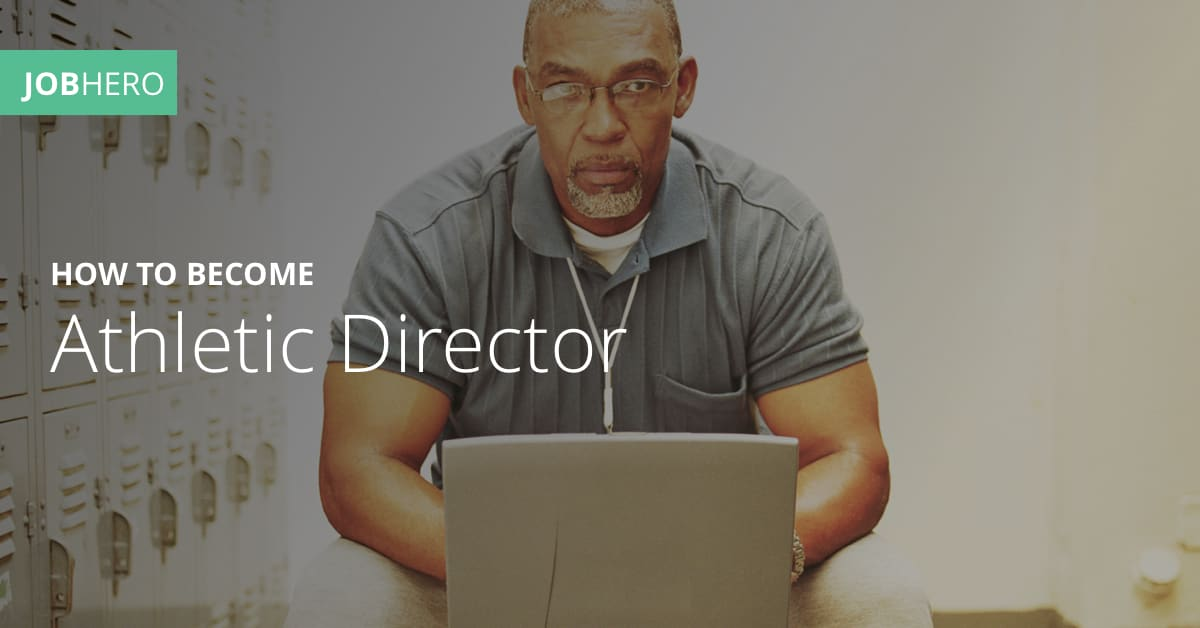 How To Become An Athletic Director Jobhero