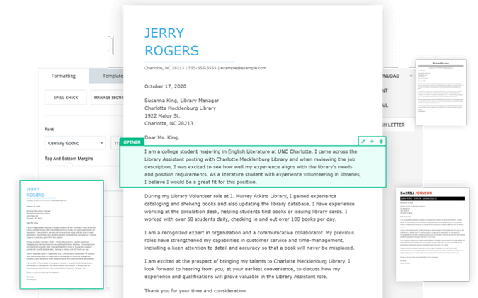 Job Cover Letter Generator Primary Taken Excellent