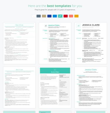 Resume Builder Create The Best Resume Fast