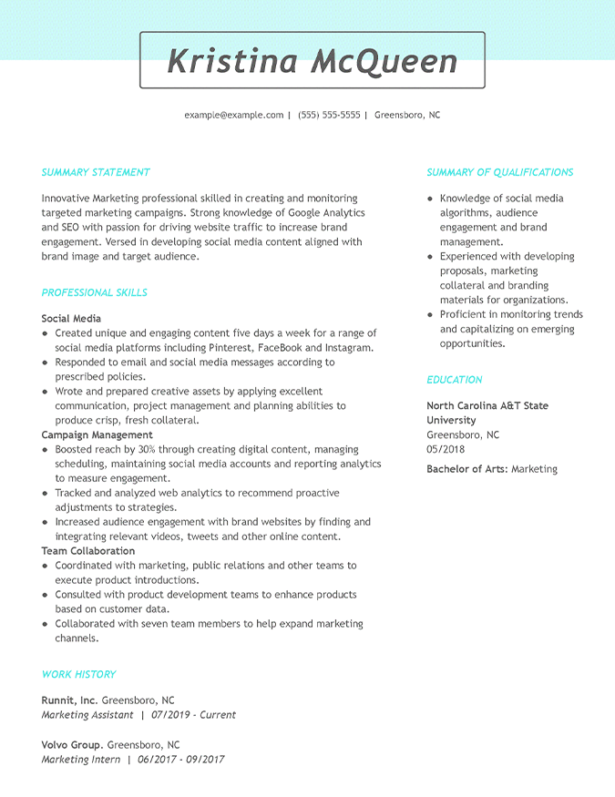 the best resume templates for 2020  customize   download