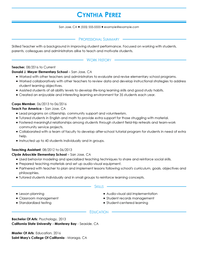 the resume format guide  how to lay out your resume